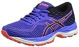 Asics C742N4890, Zapatillas de Running Unisex niños, Morado (Blue Purple/Black/Flash Coral), 33 EU