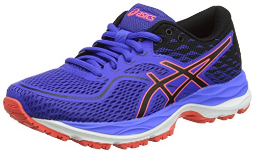 Asics C742N4890, Zapatillas de Running Unisex Niños, Morado (Blue Purple/Black/Flash Coral), 32.5 EU