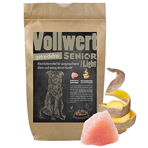 Schecker Dogreform VOLLWERT Trockenfutter 12 kg Senior Light getreidefreies Hundefutter