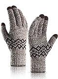 TRENDOUX Winter Gloves for Men Women Knit Touchscreen Glove Texting...