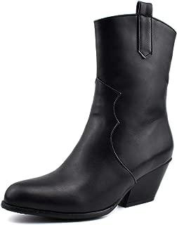 BalaMasa Womens ABS14145 Pu Boots