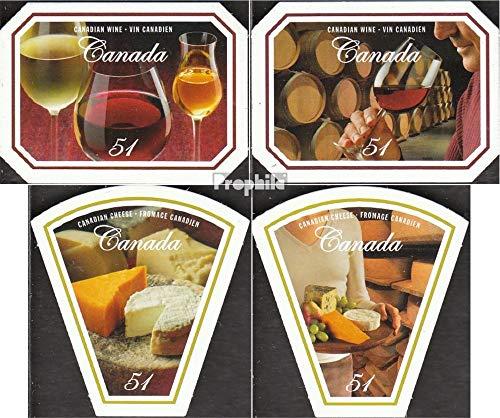 Prophila Collection Kanada 2352-2355 (kompl.Ausg.) 2006 Wein und Käse (Briefmarken für Sammler)