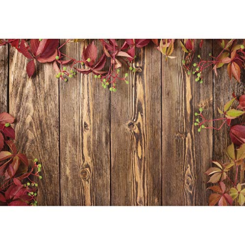 Jewderm 9x6ft Photography Backdrop Pink Flowers Photo Background Wood Board for Party Wall Decoration Photographic Studio Props