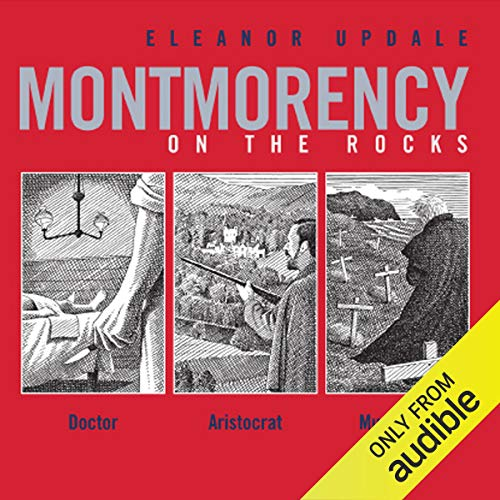 Montmorency on the Rocks audiobook cover art