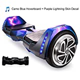 AlienBoard UL2272 Certified Hoverboard Batwings with Bluetooth, Samsung Cell Battery and LED Lights...