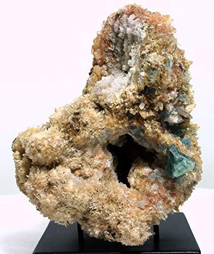 Mine Treasures Beautiful Creedite From Mina Navidad, Abasolo, Mexico