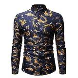 Camisas de los hombres Impresas Camisas de los Hombres Casual Camisas