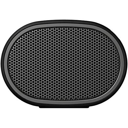 ソニーワイヤレスポータブルスピーカーSRS-XB01B]:防水Bluetoothスマホなしで操作可能ストラップ付属2018年モデル/マイク付き/ブラック