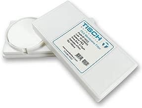 Tisch Brand SF15022 PES Polyethersulfone Membrane Filter, 0.45um, 47mm, 1/pk/200 per Pack   Wettability: Hydrophilic   Maximum Operating Temperature: 90 Degrees C   Flow Rate: 18 (ml/min@10psi)  