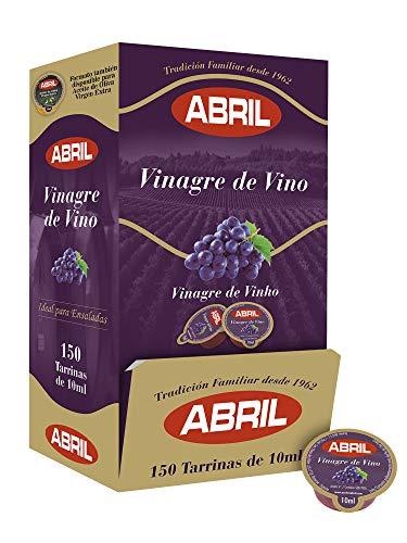 Tarrina Vinagre de Vino Tinto Abril 10 ml - Caja de 150...