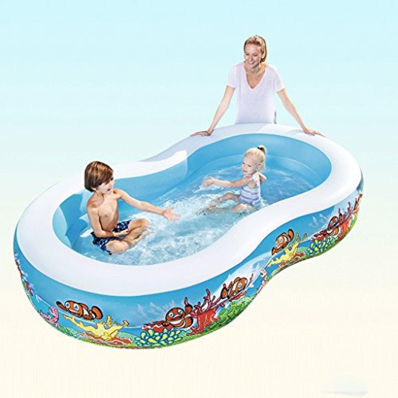 Aufblasbares Schwimmbecken Schwimmbecken für Erwachsene Schwimmbecken für Erwachsene Aufblasbare aufblasbare Badewanne LITING_WANG (Farbe   Package B)