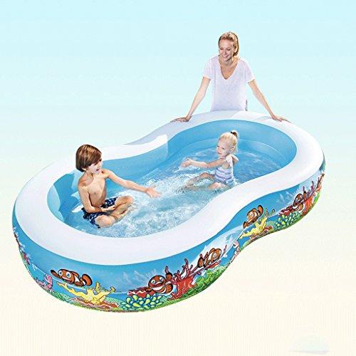 Aufblasbares Schwimmbecken Schwimmbecken für Erwachsene Schwimmbecken für Erwachsene Aufblasbare aufblasbare Badewanne LITING_WANG (Color : Package B)