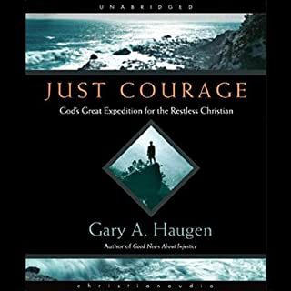 Just Courage audiobook cover art