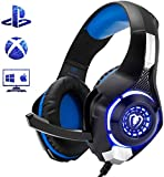 Beexcellent Gaming Headset for PS4 Xbox One PC Mac...