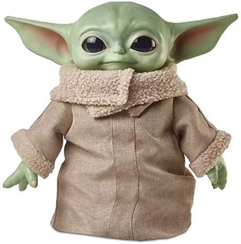 YIJIN Child Baby Yoda Master Toys Creative Cute Anime Figure Puppets Big Eyes 8cm PVC Figura De Acción Muñeca Juguetes Modelo Colección Juguetes para Niños