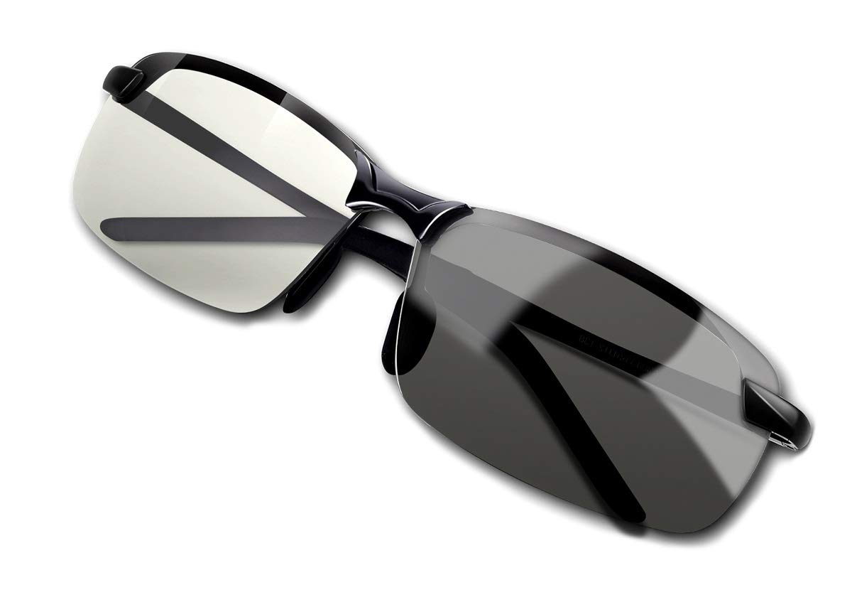 Fashion Polarized Photochromic Sunglasses Protection
