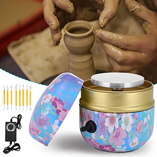 HUKOER Mini máquina de rueda de cerámica 2000 RPM mini máquina de...