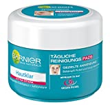 Garnier Hautklar tägliche Reinigungspads Gesicht/Anti-Pickel wirksam in nur 5h, 1er Pack (1 x 56 Stück)