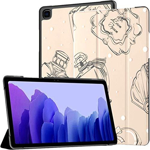 Aroma romántico Perfume Colorido Retro Funda para Galaxy Tab A7 Galaxy Tab A7 Funda para Tableta de 10,4 Pulgadas Funda para Tableta con activación/Reposo automático Funda para Tableta SAMS