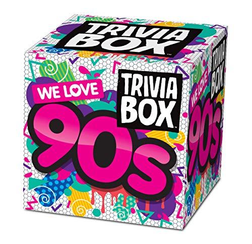 Imagination Card Games Trivia Box We Love 90s Themed Trivia