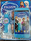 Toy Mobile Phone with Watch for Kids (Frozen Princess Edition)