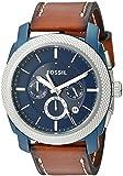 Fossil Reloj Cronógrafo para Hombre de Cuarzo con Correa en Acero Inoxidable FS4662