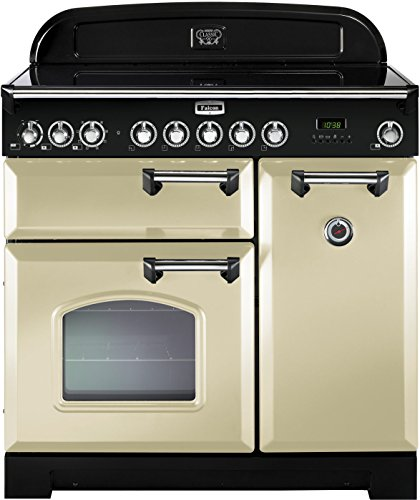 Falcon RANGECOOKER CLASSIC DELUXE 90 creme /chrom - Induktion Grill / Multif.ofen / HL Ofen