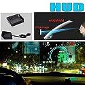 SHENYF HUD for Volvo S60 V70 XC70 C70 S40 V50 XC60 V40 S80 S90 Digitaltacho OBD2 Head up Display-Big-Monitor Racing HUD