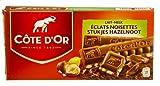 Cote d'Or - Leche avellana - 6 piezas - 200 g - Chocolate con leche belga - Barritas de chocolate - snack perfecto - Barra de chocolate envasada individualmente - Importado de Bélgica