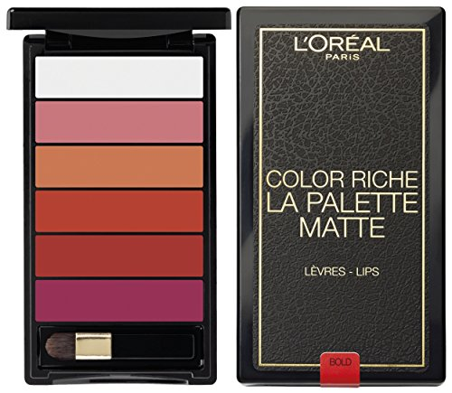L'Oréal Paris Color Riche Mate Palette Labios Bold