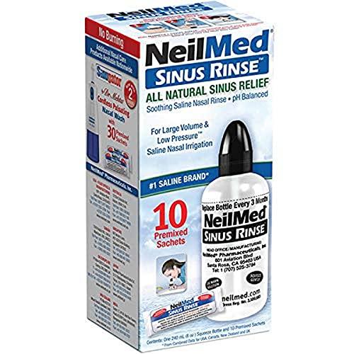 Neilmed SinusRinse All Natural Sinnus Relief 10 Sachets