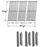 Member's Mark BQ05046-6N-A, B09SMG-3, B09SMG1-3F Repair Kit Inlcudes Heat Plates and Stainless Cooking Grates