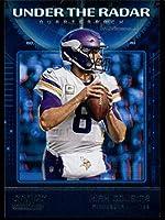 2020 Score Under The Radar #1 Kirk Cousins Minnesota Vikings Football Nfl