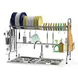 Over The Sink Dish Rack, Ace Teah Large Dish Drying Rack...
