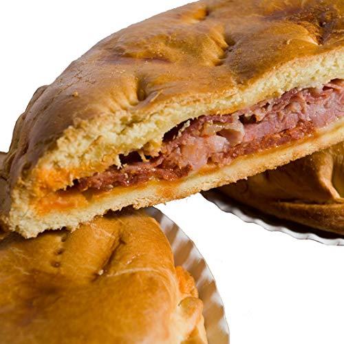 Hornazo Ibérico con Chorizo, Lomo, Jamón. 1,200 kg aproximadamente. Salamanca.