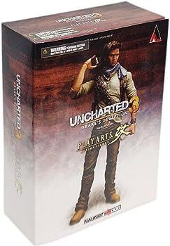 Uncharted 3 Play Arts Kai Series 1 Action Figure Nathan Drake