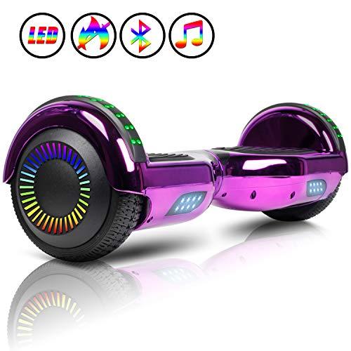JOLEGE Hoverboard 6.5' Self Balancing Hoverboards for Kids with LED Light -...
