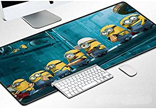 Everyday-Deal Extended Speed Gaming Mousepad - Non-Slip Rubber Base - Stitched Edge (Minion)