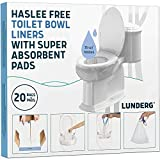 Lunderg Toilet Bowl Liners with Super...