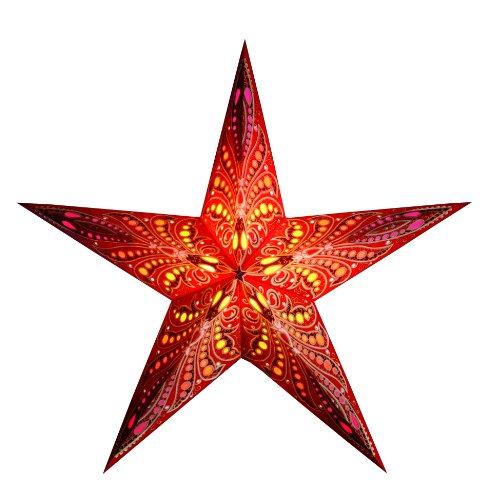 Starlightz® Leuchtstern Queen of Tonga inkl. Verkabelung