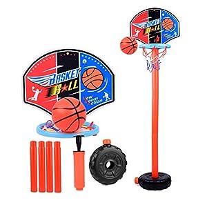 Womdee - Canasta de Baloncesto para niños, Altura Regulable ...