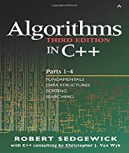 Algorithms in C++, Parts 1-4: Fundamentals, Data Structure, Sorting, Searching, Third Edition