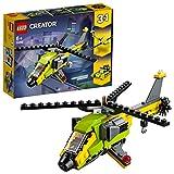 LEGO Creator L'aventure en hélicoptère Jeu de construction, 6 Ans et Plus, 114 Pièces  31092