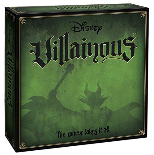 Ravensburger Disney Villainous Game - ¿Qué Villano Eres? - Versión Inglesa