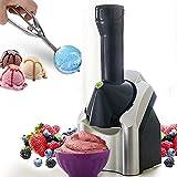 KEYREN Máquina del Fabricante de Helados, para el Postre de Fruta congelada Portátil Uso doméstico Vegano Postres de Helados Gelato Smoothie Helado Máquina de Fabricante (Color : Default)