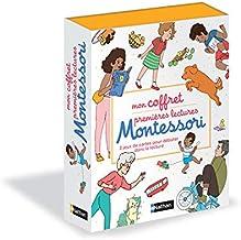 Mon coffret premières lectures Montessori (Coffrets Montessori) (French Edition)