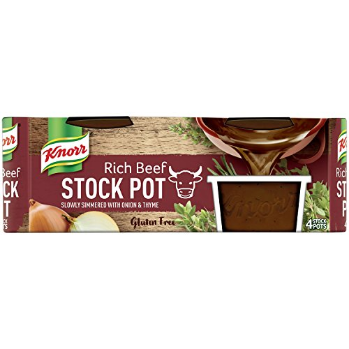 Knorr Rich Beef Stock Pot, 4 x 28g