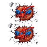 Wanddekoration Spiderman Wandaufkleber Spiderman Poster