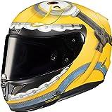 HJC Helmets Casco integral de moto RPHA11 OTTO MINIONS, S, Amarillo