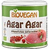 Agar Agar En Polvo Sin Gluten Orgánico Gelatina Pura Vegano 100g | Sabor Y Olor Neutro - Agar...